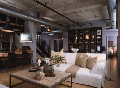 decora o industrial parte ii arquitetando moda. Black Bedroom Furniture Sets. Home Design Ideas